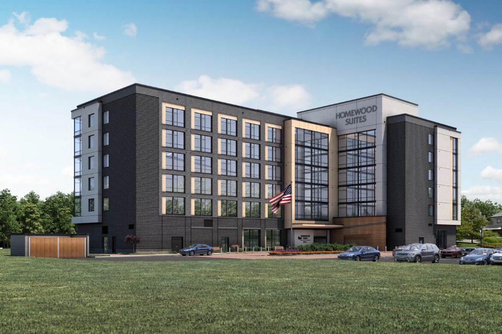 Riverfront Homewood Suites