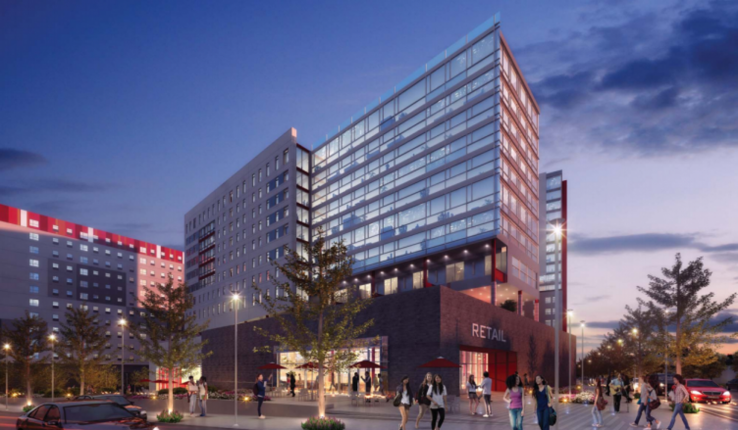 View II Render from Niles Bolton Associates - Evening